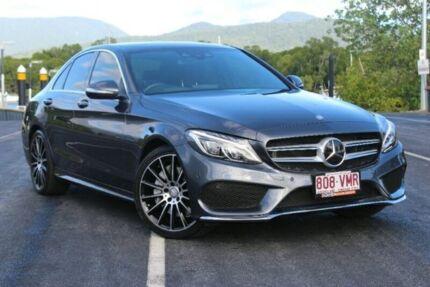 2015 Mercedes-Benz C250 W205 7G-Tronic + Grey 7 Speed Sports Automatic Sedan