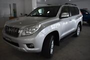 2013 Toyota Landcruiser Prado KDJ150R GXL Silver 5 Speed Sports Automatic Wagon Port Macquarie Port Macquarie City Preview