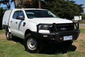 2016 Ford Ranger PX MkII XL White 6 Speed Manual Cab Chassis Officer Cardinia Area Preview