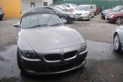 2003 BMW Z4 E85 3.0I Grey 5 Speed Auto Steptronic Roadster Laverton Wyndham Area Preview