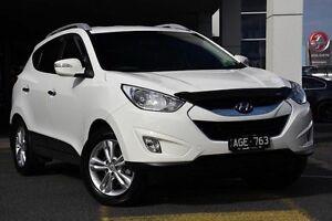 2012 Hyundai ix35 Elite AWD White 6 Speed Sports Automatic Wagon Mornington Mornington Peninsula Preview