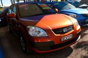 2009 Kia Rio JB MY09 LX Orange 4 Speed Automatic Hatchback Minchinbury Blacktown Area Preview