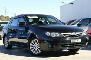 2010 Subaru Impreza G3 MY10 RX AWD Black 4 Speed Sports Automatic Sedan Liverpool Liverpool Area Preview