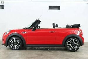 2018 Mini Convertible F57 LCI Cooper D-CT Chilli Red 7 Speed Sports Automatic Dual Clutch
