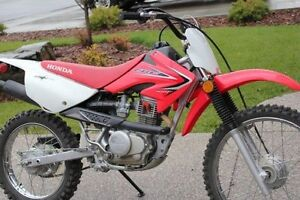 2013 Honda CRF100F Big wheel