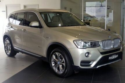 2016 BMW X3 F25 LCI xDrive20d Steptronic Gold 8 Speed Automatic Wagon Southport Gold Coast City Preview