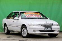 1997 Ford Fairlane NL Ghia White 4 Speed Automatic Sedan Ringwood East Maroondah Area Preview