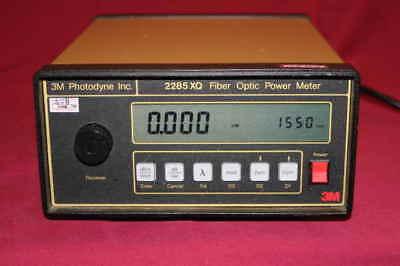 3m Photodyne 2285xq Fiber Optic Power Meter