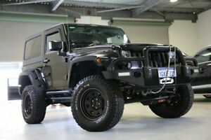 2014 Jeep Wrangler JK MY2014 Sport Black 6 Speed Manual Softtop Welshpool Canning Area Preview
