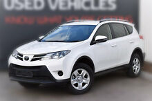 2014 Toyota RAV4 ASA44R MY14 GX AWD Glacier White 6 Speed Sports Automatic Wagon Berwick Casey Area Preview