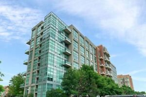 Bright Updated Large Loft! 1+1 Bed&2 Bath In Lake Shore