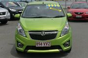 2015 Holden Barina Spark MJ MY15 CD Green 5 Speed Manual Hatchback Southport Gold Coast City Preview