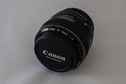 Canon 28mm f1.8 EF USM lens Oxley Brisbane South West Preview