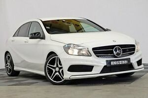2013 Mercedes-Benz A200 W176 D-CT White 7 Speed Sports Automatic Dual Clutch Hatchback Seven Hills Blacktown Area Preview