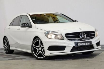 2013 Mercedes-Benz A200 W176 D-CT White 7 Speed Sports Automatic Dual Clutch Hatchback