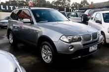 2006 BMW X3 E83 MY06 Steptronic Silver 6 Speed Sports Automatic Wagon Ringwood East Maroondah Area Preview
