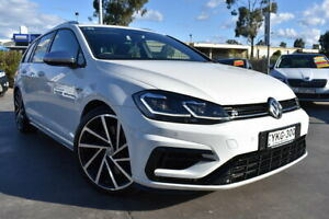 2019 Volkswagen Golf 7.5 MY19.5 R DSG 4MOTION White 7 Speed Sports Automatic Dual Clutch Wagon Penrith Penrith Area Preview