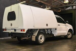 2009 Toyota Hilux TGN16R MY10 Workmate White 4 Speed Automatic Cab Chassis