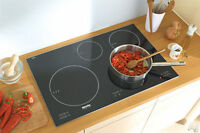 "Plaque de cuisson induction 30"" Miele MasterChef paye 4150$ 2014"