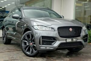 2018 Jaguar F-PACE X761 MY18 25t R-Sport Grey 8 Speed Sports Automatic Wagon Doncaster Manningham Area Preview