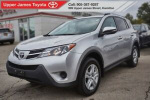 2015 Toyota RAV4 LE AWD with Upgrade Package