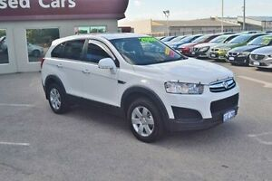 2015 Holden Captiva CG MY16 LS 2WD White 6 Speed Sports Automatic Wagon Bayswater Bayswater Area Preview