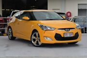 2012 Hyundai Veloster FS + Coupe Yellow 6 Speed Manual Hatchback Robina Gold Coast South Preview