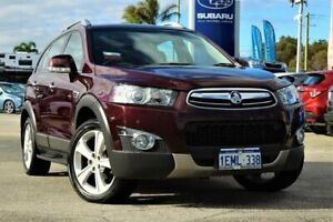2013 Holden Captiva CG MY13 7 AWD LX Red 6 Speed Sports Automatic Wagon Greenfields Mandurah Area Preview