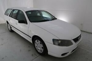 2010 Ford Falcon BF Mk III XT White 4 Speed Sports Automatic Wagon Hamilton North Newcastle Area Preview