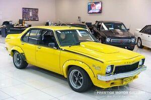 1974 Holden Torana LH SL/R Yellow Manual Sedan Carss Park Kogarah Area Preview