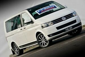 2011 Volkswagen Multivan T5 MY11 Edition DSG 25 White 7 Speed Sports Automatic Dual Clutch Wagon Ferntree Gully Knox Area Preview