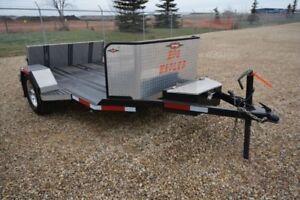 Hog Hauler motorcycle trailer