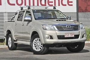 2013 Toyota Hilux KUN26R MY12 SR5 Double Cab Gold 4 Speed Automatic Utility Mount Gravatt Brisbane South East Preview
