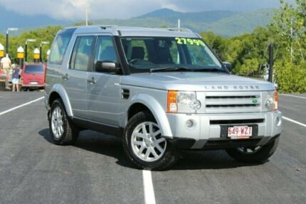 2008 Land Rover Discovery 3 Series 3 09MY SE Silver 6 Speed Sports Automatic Wagon