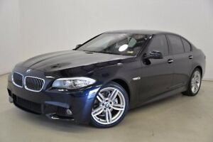 2013 BMW 528I F10 LCI M Sport Steptronic Blue 8 Speed Sports Automatic Sedan