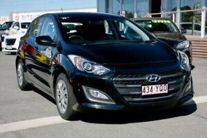 2016 Hyundai i30 GD4 Series II MY17 Active Black 6 Speed Sports Automatic Hatchback Capalaba Brisbane South East Preview