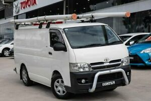 2009 Toyota HiAce KDH201R MY08 LWB White 5 Speed Manual Van Castle Hill The Hills District Preview