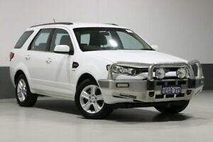 2014 Ford Territory SZ TX (4x4) White 6 Speed Automatic Wagon