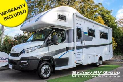 2017 Sunliner SWITCH S541 IVECO Brand New Luxury Slide Out S60171