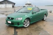 2010 Holden Ute VE II SV6 Green 6 Speed Manual Utility Portsmith Cairns City Preview