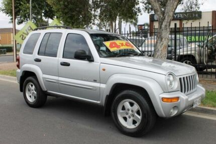 2002 Jeep Cherokee KJ Limited (4x4) Silver 4 Speed Automatic Wagon Hillcrest Port Adelaide Area Preview