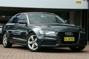 2013 Audi A6 4G MY14 S tronic quattro Grey 7 Speed Sports Automatic Dual Clutch Sedan Petersham Marrickville Area Preview