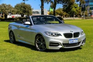 2017 BMW 2 Series F23 M240I Silver 8 Speed Sports Automatic Convertible Burswood Victoria Park Area Preview