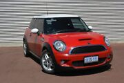 2010 Mini Hatch R56 LCI Cooper S Steptronic Red 6 Speed Sports Automatic Hatchback Gosnells Gosnells Area Preview