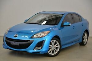 2009 Mazda 3 BL10L1 SP25 Blue 6 Speed Manual Sedan Mansfield Brisbane South East Preview