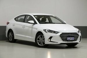 2017 Hyundai Elantra AD Active 2.0 MPI White 6 Speed Automatic Sedan Bentley Canning Area Preview