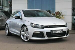 2012 Volkswagen Scirocco 1S MY12 R Coupe DSG Silver, Chrome 6 Speed Sports Automatic Dual Clutch Kirrawee Sutherland Area Preview