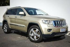 2012 Jeep Grand Cherokee WK MY2012 Limited Gold 5 Speed Sports Automatic Wagon Maddington Gosnells Area Preview