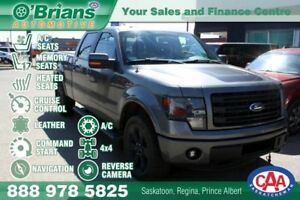 2014 Ford F-150 FX4 w/4x4, Cmd Start, Nav, Leather Loaded!