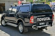 2015 Toyota Hilux KUN26R MY14 SR Double Cab Black 5 Speed Automatic Utility Ferntree Gully Knox Area Preview